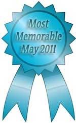may 2011 ribbon for most memorable