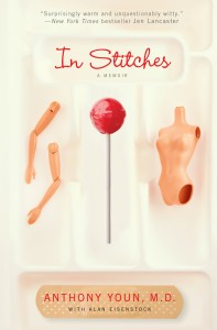 cover of in stitches memoir