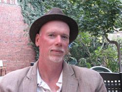 phil brady in hat outside