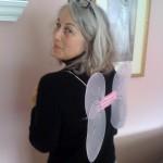 risa nye wearing wings