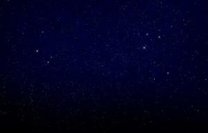 starry night sky