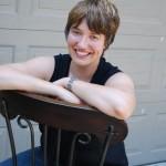 Julie marie wade on chair