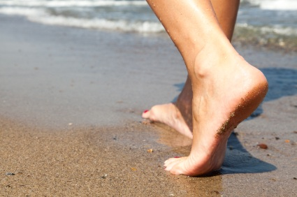 When you walk with naked feet, how can you ever forget