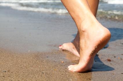 feet walking in sand hippocampus magazine memorable creative