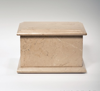 marble urn box
