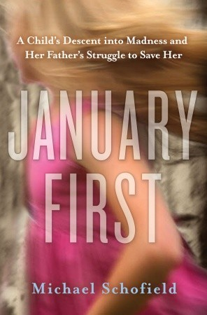 cover of January First with blurry young girl in background