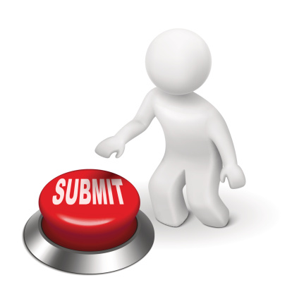 submit button with stick figure