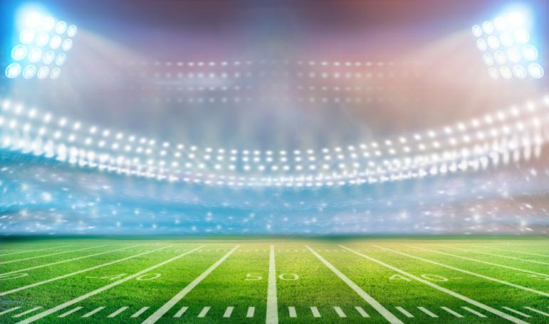 Nfl football stadium lights