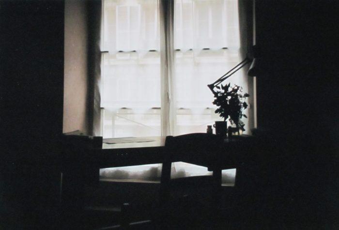 writing desk inside monestary
